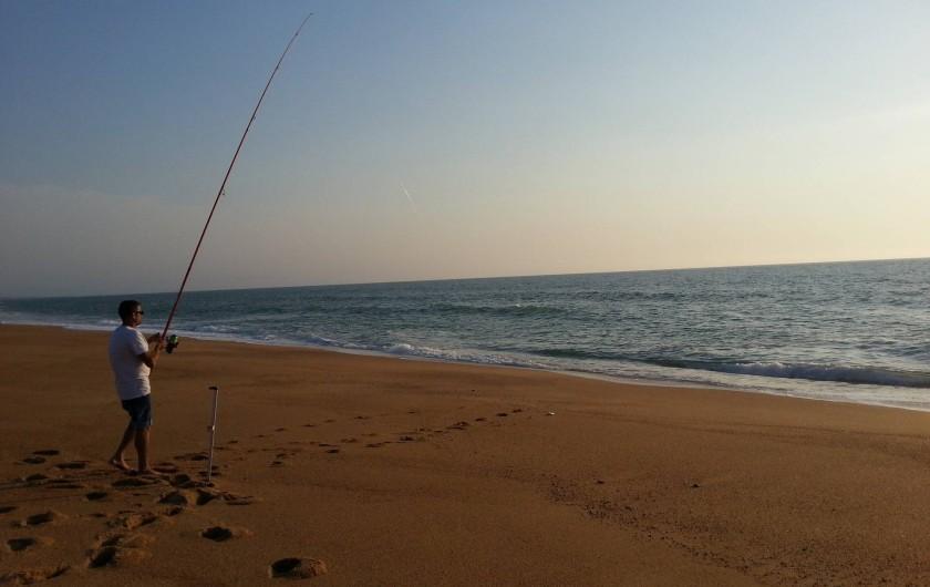 Location de vacances - Villa à Saint-Martin-de-Seignanx - pêche en surcasting à Ondres; 5 min de la maison