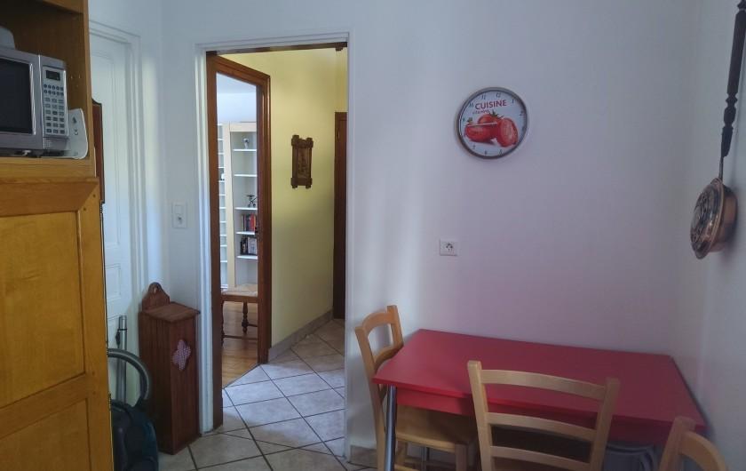 Location de vacances - Gîte à Bussang - Grand Appartement - Cuisine