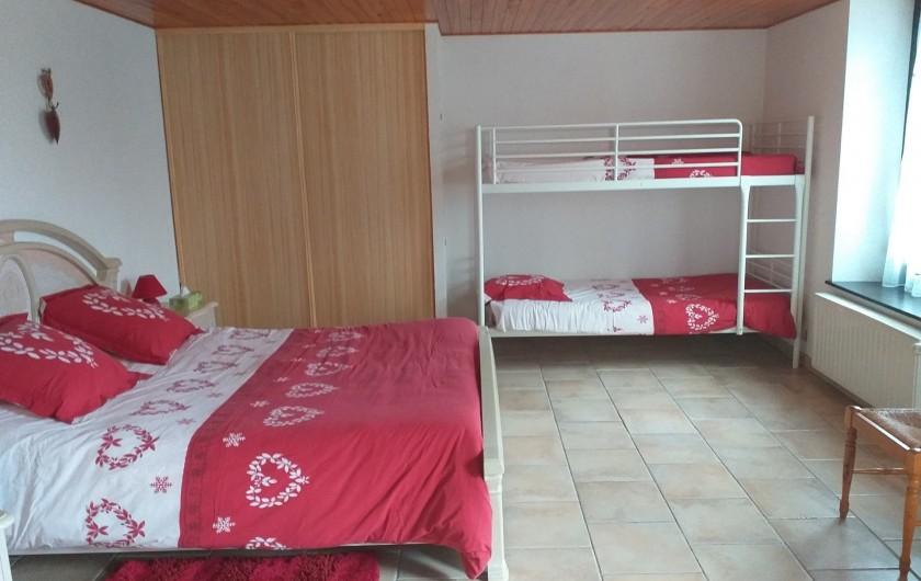 Location de vacances - Gîte à Bussang - Petit Appartement - Chambre