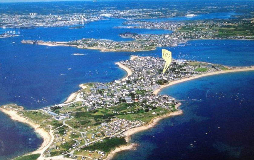 Location de vacances - Villa à Gâvres - ... A 50 m de la grande plage, au coeur du village de pêcheurs