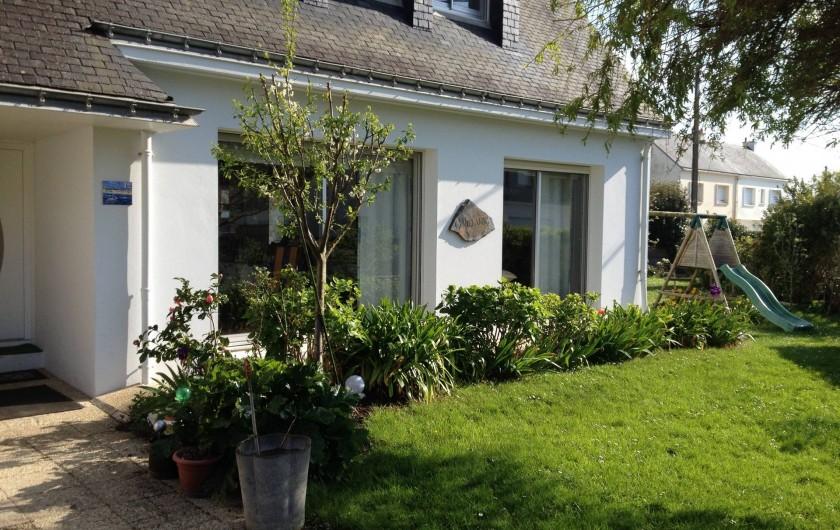 Location de vacances - Villa à Gâvres - entrée côté nord