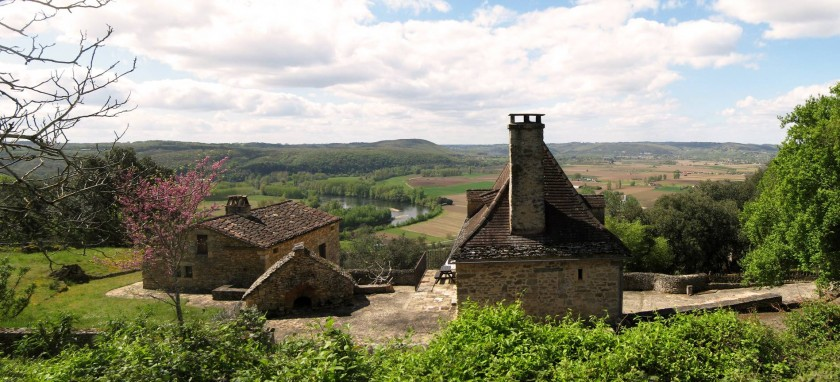 Un balcon sur la Dordogne