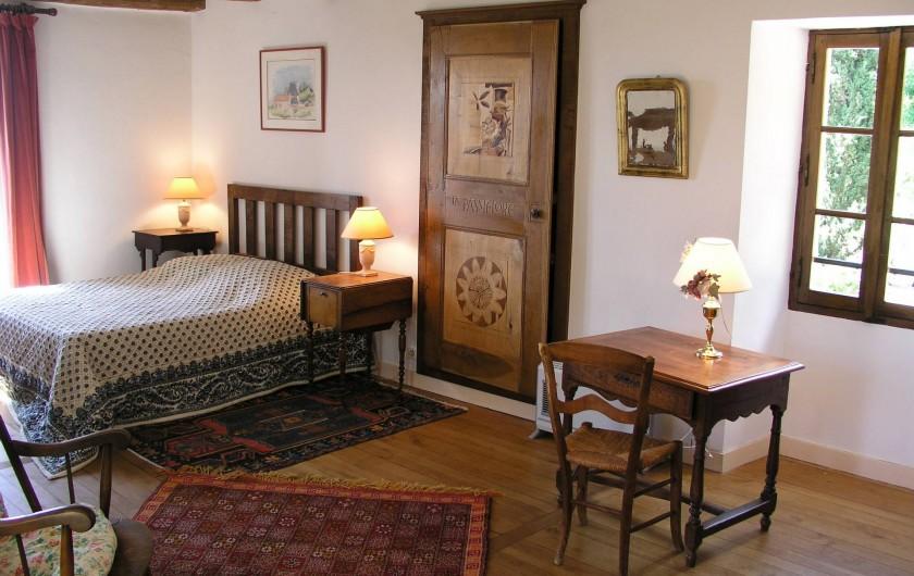 Location de vacances - Maison - Villa à Bézenac - La chambre principale