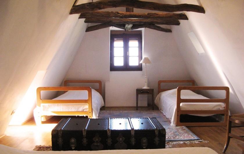 Location de vacances - Maison - Villa à Bézenac - La chambre mansardée