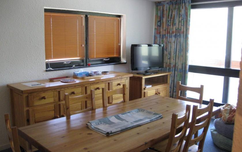 Location de vacances - Appartement à Les Menuires - Grand séjour