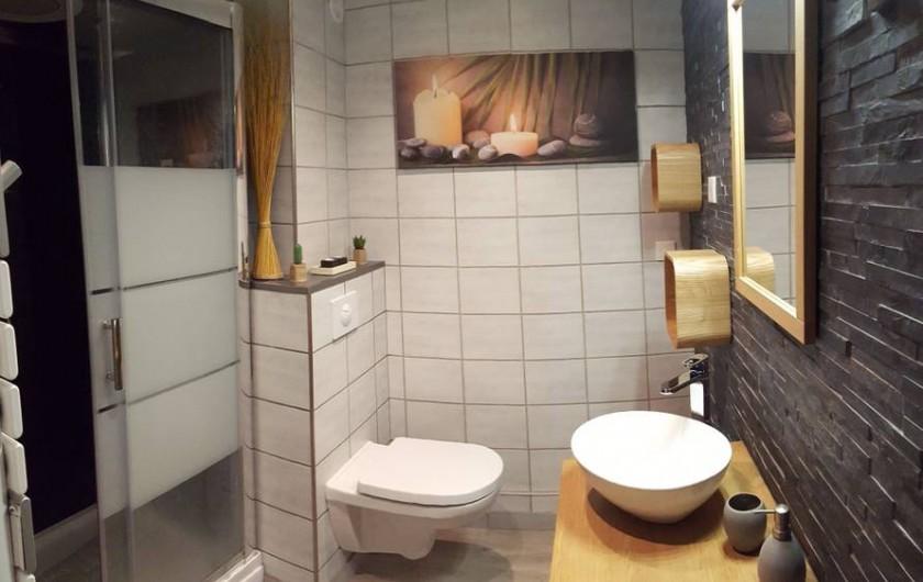 Location de vacances - Studio à Trois Épis - salle de bain