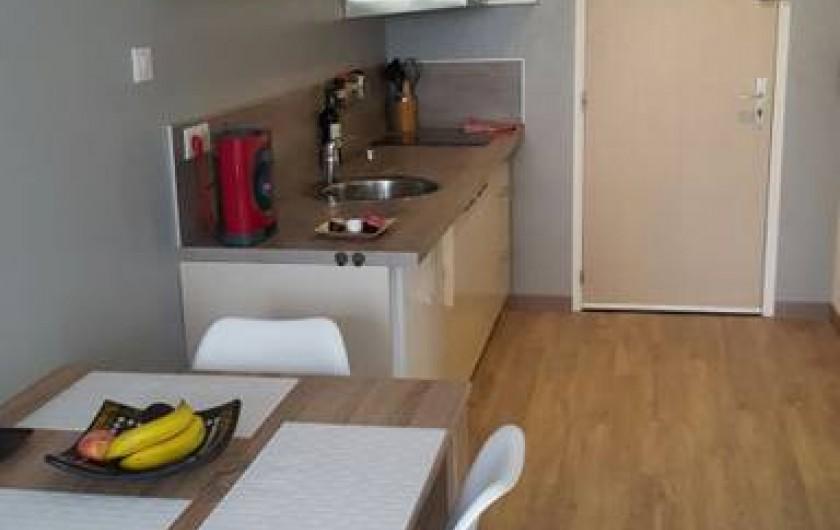 Location de vacances - Studio à Trois Épis - coin cuisine
