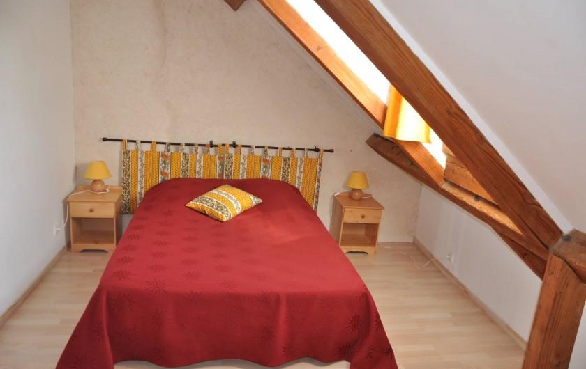 Location de vacances - Gîte à Saint-Eugène - Chambre 4 au 1er étage, 1 lit 2 places, 1 lit 1 place