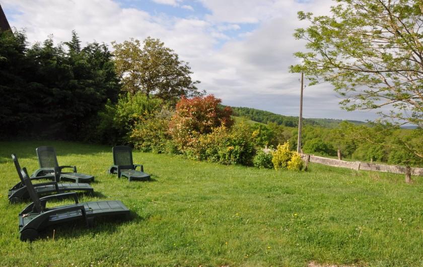 Location de vacances - Gîte à Saint-Eugène - Pelouse du parc