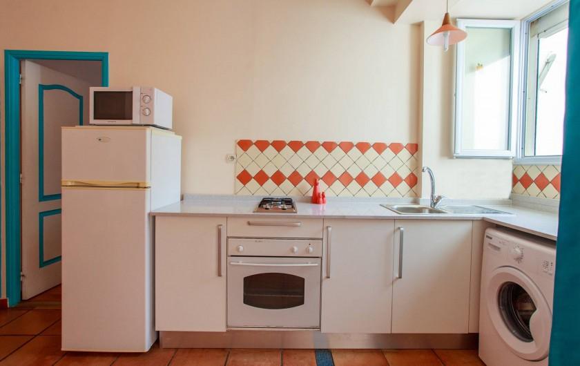 Location de vacances - Appartement à Le Diamant - cuisine - appartement