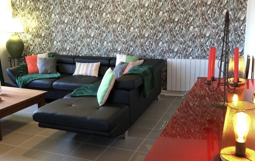 Location de vacances - Gîte à Ville-Langy - salon salle a manger