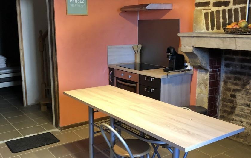 Location de vacances - Gîte à Ville-Langy - cuisine