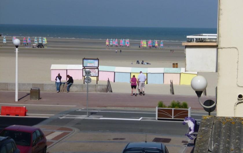 Location de vacances - Studio à Berck - vue de la fenêtre du coin séjour