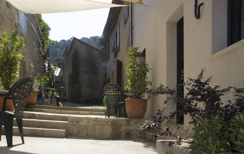Location de vacances - Gîte à Robion - Chambre lit 160 cm