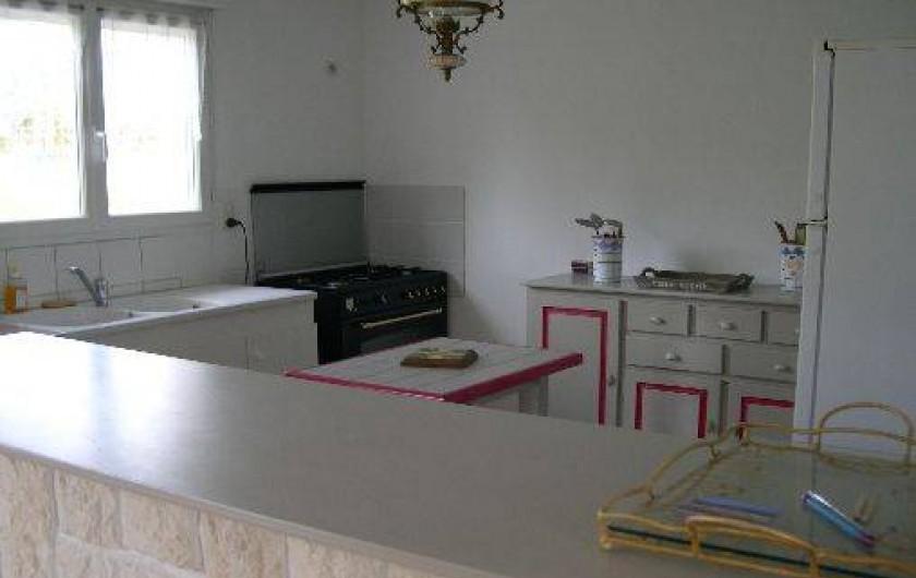 Location de vacances - Gîte à Port-le-Grand - cuisine