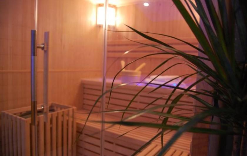 Location de vacances - Gîte à Gémozac - Sauna