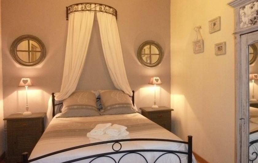 Location de vacances - Gîte à Gémozac - Chambre BELLE DE NUIT