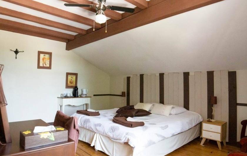 """Location de vacances - Chambre d'hôtes à Senouillac - Chambre """"Chocolat"""""""