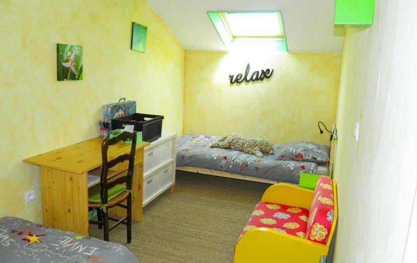 """Location de vacances - Chambre d'hôtes à Senouillac - Chambre """"Loin de l'oeil"""""""