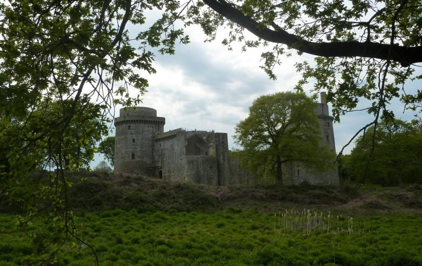 Location de vacances - Gîte à Pléven - Château de La Hunaudaye