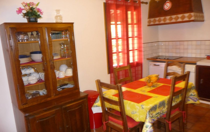 Location de vacances - Studio à Vidauban - cuisine