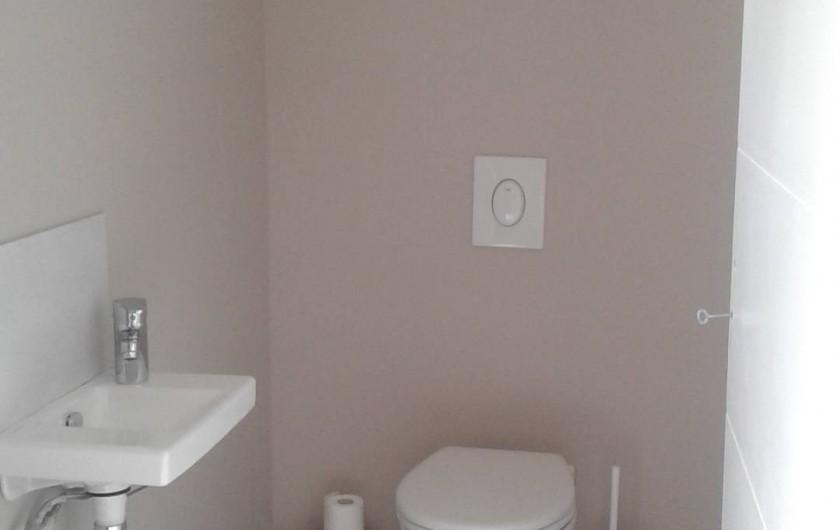 Location de vacances - Villa à Grillon - WC en bas
