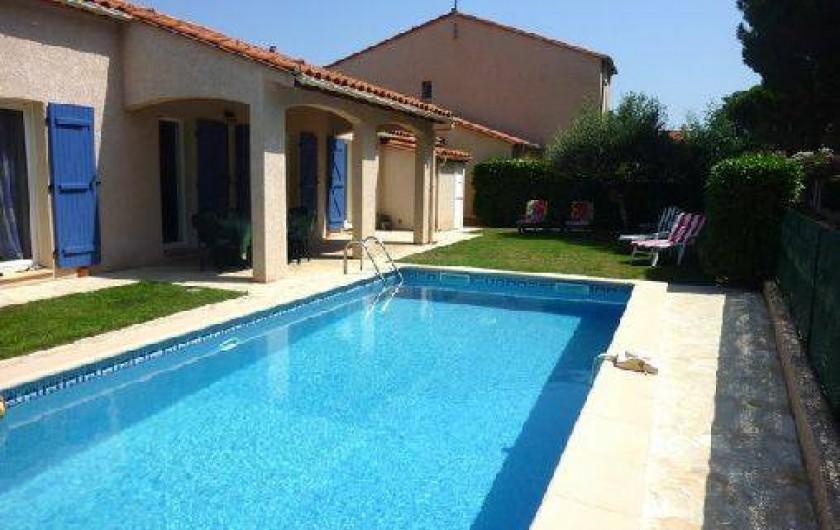 Location de vacances - Villa à Saint-Génis-des-Fontaines