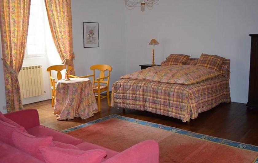 Location de vacances - Chambre d'hôtes à Douchapt - Chambre Coquelicot