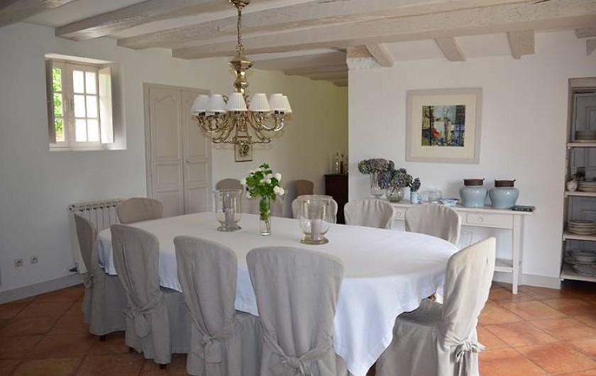 Location de vacances - Chambre d'hôtes à Douchapt - Salle à manger