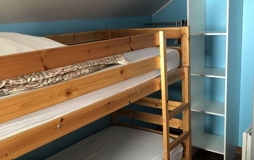 Location de vacances - Camping à Lincou - chambre double Lodge Factory