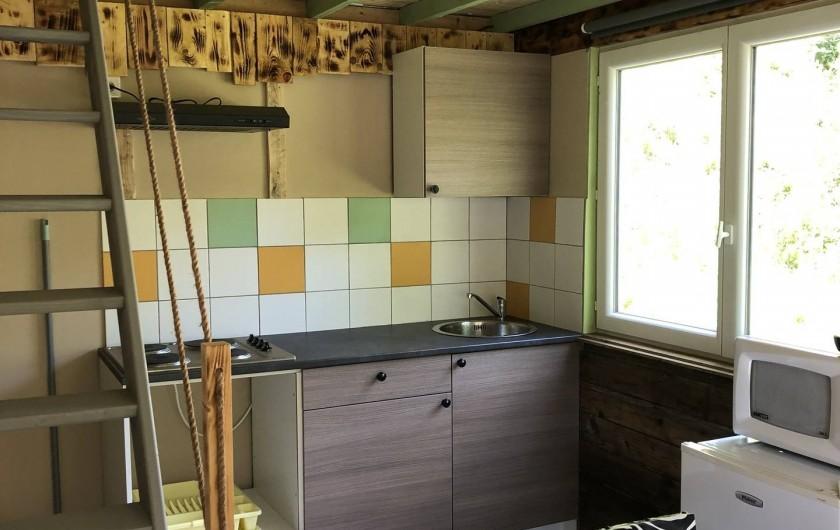 Location de vacances - Camping à Lincou - cuisine Lodge Safari