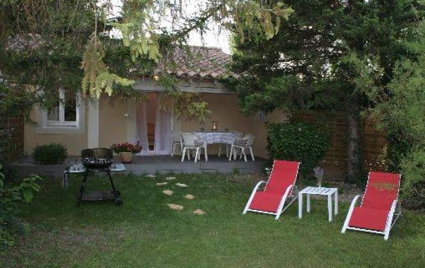Location de vacances - Studio à Saint-Saturnin-lès-Avignon