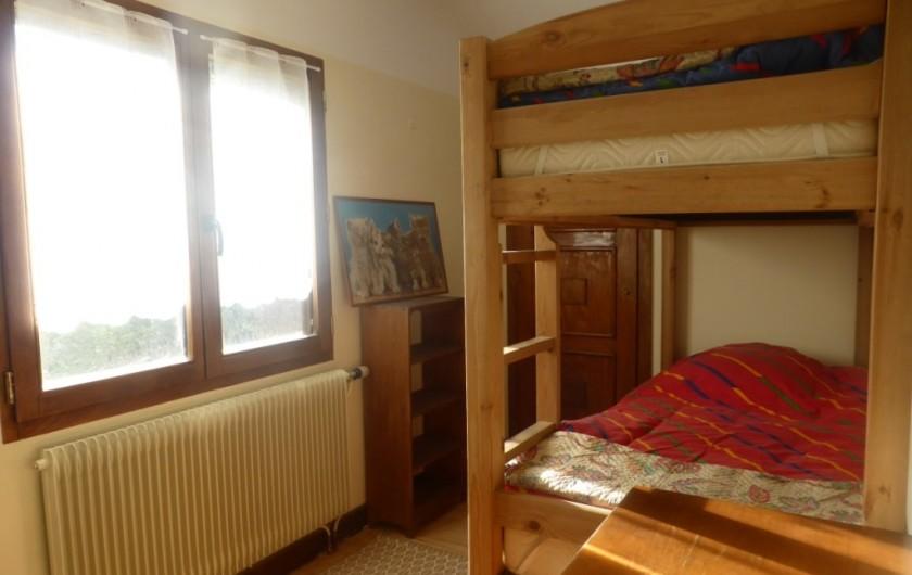Location de vacances - Chalet à Combloux - Coin montagne avec lits superposées