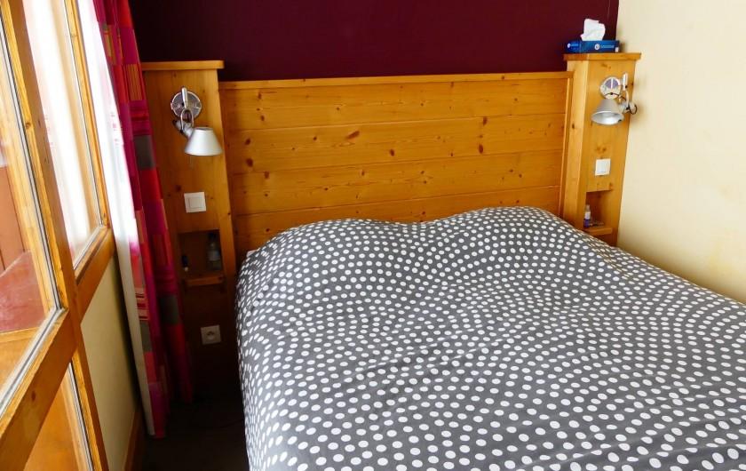 Location de vacances - Appartement à La Plagne - Chambre 1 avec lit 160x200