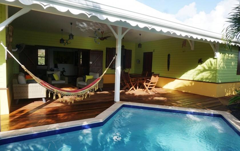 Location de vacances - Villa à Sainte-Luce - terrasse