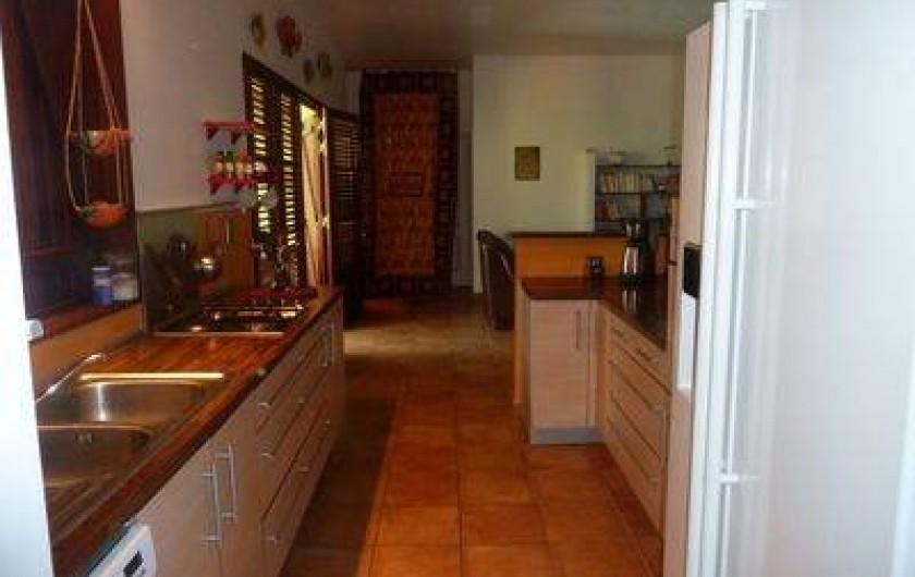 Location de vacances - Villa à Sainte-Luce - cuisine
