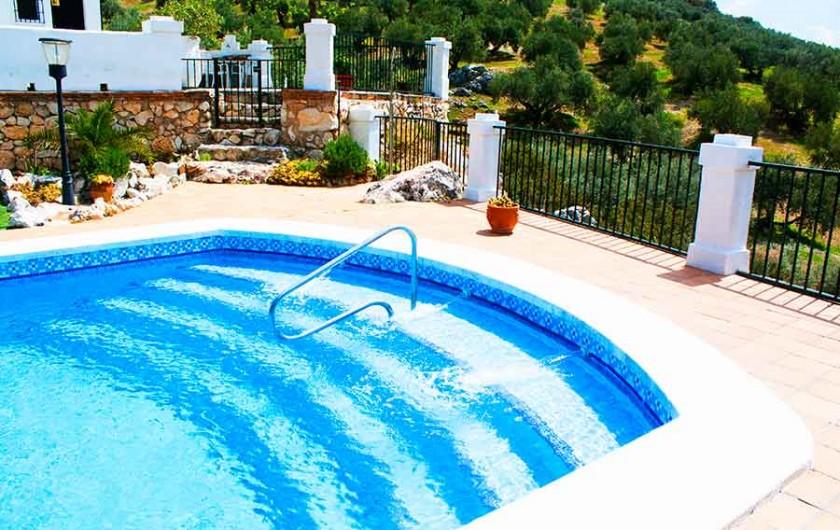Location de vacances - Villa à Carcabuey - PISCINA