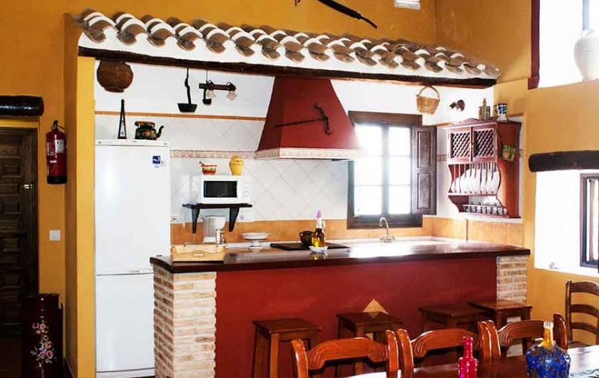 Location de vacances - Villa à Carcabuey - COCINA