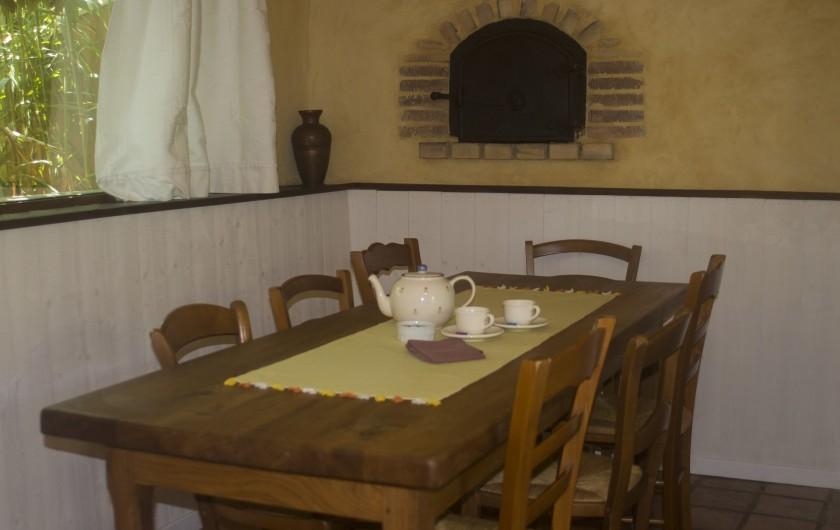 Location de vacances - Gîte à Ossages - Coin repas