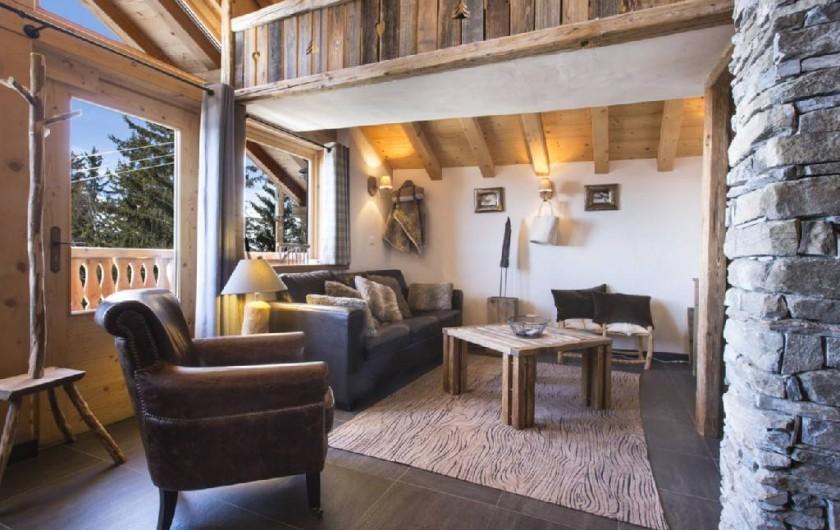 Location de vacances - Chalet à Landry - SALON