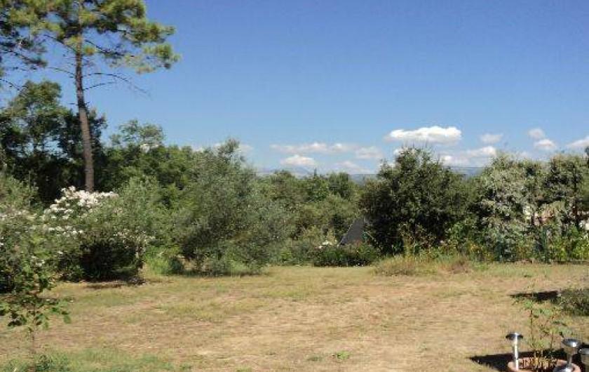 Location de vacances - Maison - Villa à Montauroux - vue