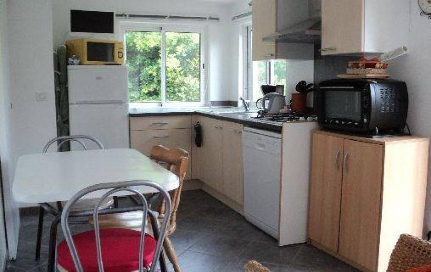 Location de vacances - Maison - Villa à Montauroux - cuisine  aménagée