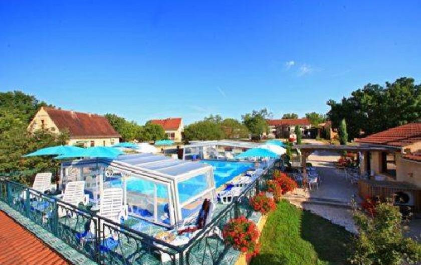 Location de vacances - Gîte à Orliaguet - La piscine