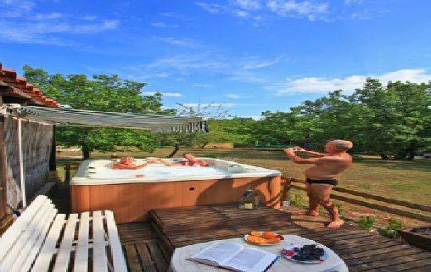 Location de vacances - Gîte à Orliaguet - Le spa
