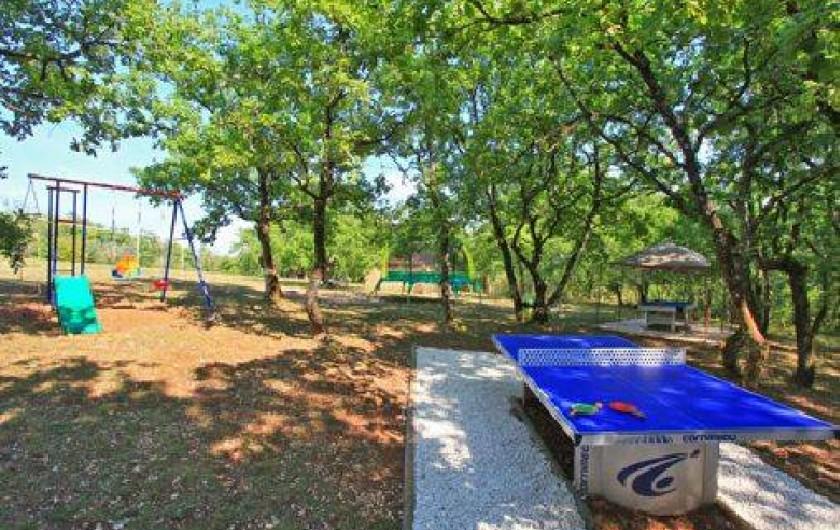 Location de vacances - Gîte à Orliaguet - Ping pong