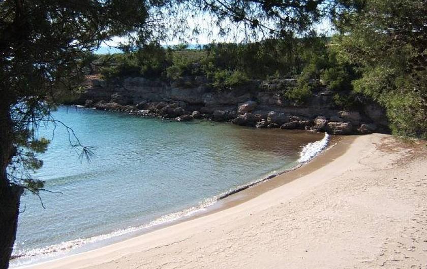 Location de vacances - Villa à L'Ametlla de Mar - Cala Calafató