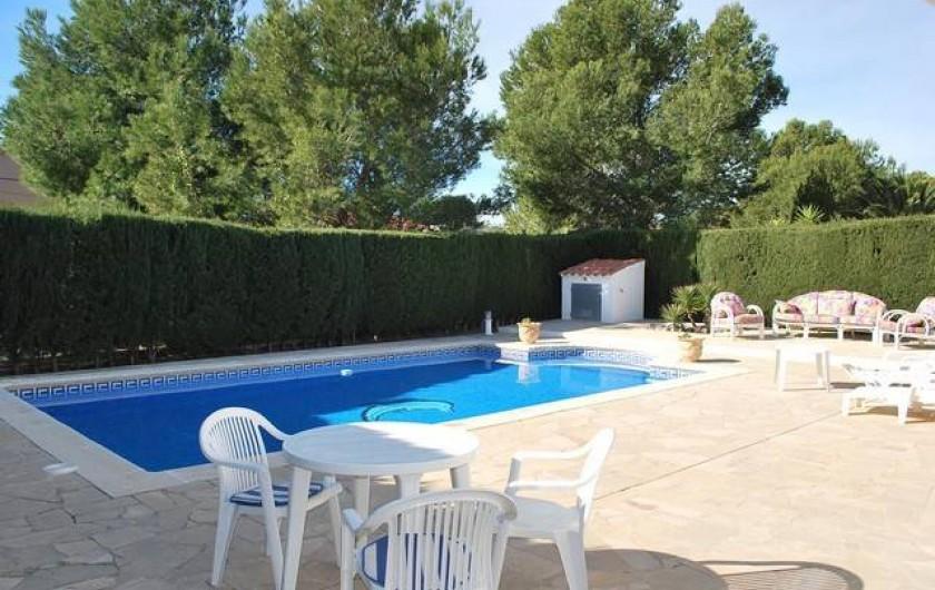 Location de vacances - Villa à L'Ametlla de Mar - Piscine privée