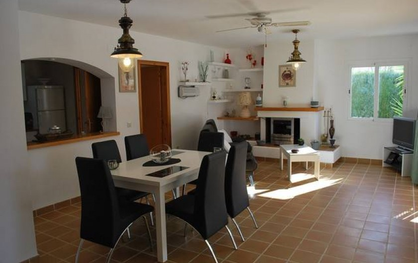 Location de vacances - Villa à L'Ametlla de Mar - Salon