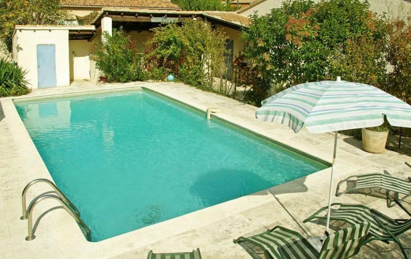Location de vacances - Villa à Maubec - vue d'ensemble