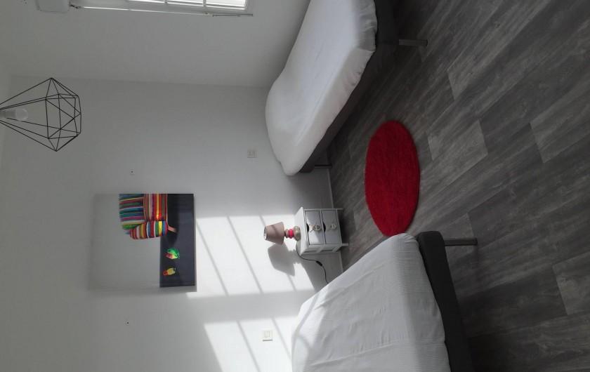 Location de vacances - Appartement à Royan - Chambre 2 x 1 personne ou 1 x 2 personnes
